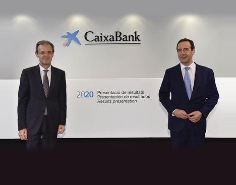 CaixaBank obtiene un beneficio de 1.381 millones tras provisionar 1.252 millones por la Covid-19