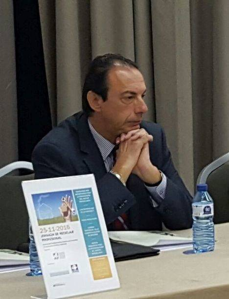 Jordi Almir, durante las pasadas Jornadas celebradas en Sitges.