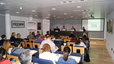 umivale reconoce la labor de 22 empresas en prevención en la Región de Murcia