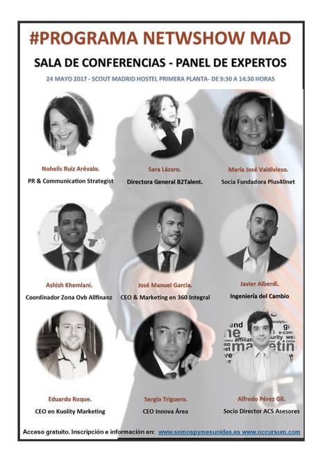 Jornada de oportunidades de negocio, emprendimiento y empleo en Madrid, Netwshow Mad 24 de mayo