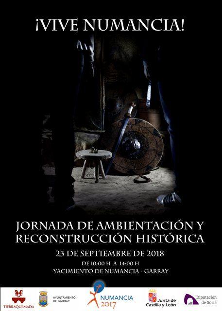 Jornada de reconstrucción histórica y ambientación en Numancia