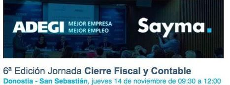 Jornada informativa sobre el cierre fiscal y contable 2019 para empresas guipuzcoanas