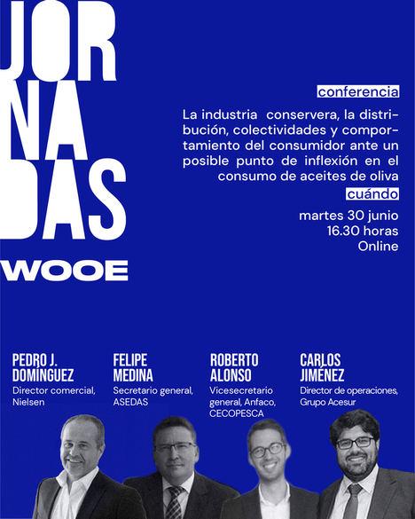 Jornadas WOOE, el punto de encuentro virtual del sector del aceite de oliva