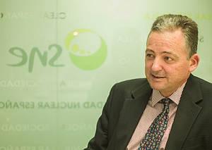 José Antonio Gago, presidente de la Sociedad Nuclear Española (SNE).