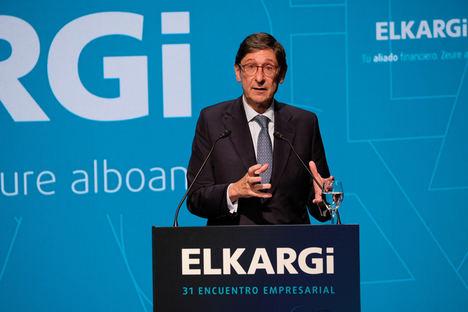 """Goirigolzarri: """"Nos encontramos ante una oportunidad única para atacar las vulnerabilidades crónicas de nuestra economía"""""""