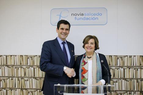 Fundación Telefónica y la Fundación Novia Salcedo firman un convenio para impulsar el empleo entre los jóvenes españoles