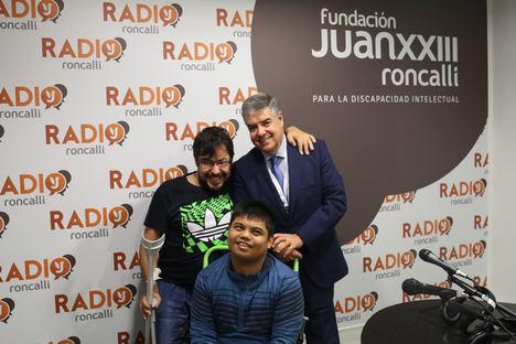 """José Morales Villarino, subdirector de Ibercaja, en Radio Roncalli: """"La función social de la empresa tiene que integrarse entre los trabajadores"""""""
