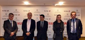José Morales, Miguel Sebastián, Antonio Gavilanes, Teresa Santero y Mario Armero.
