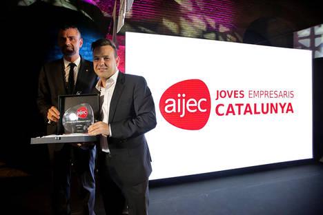 José Elías, Ceo de Audax Energía, premiado mejor joven empresario 2016