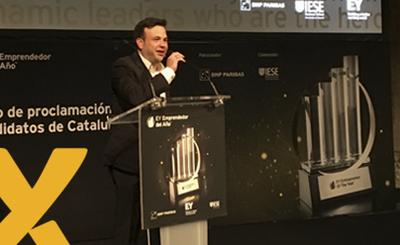 José Elías mejor emprendedor emergente del año 2017