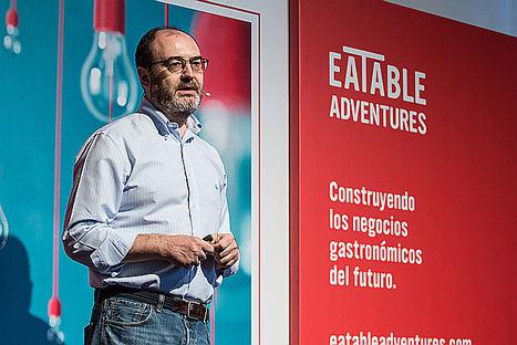 José Luis Cabañero, fundador y CEO de Eatable Adventures.