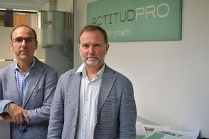 Jose y Fede Martrat, fundadores de ActitudPro.