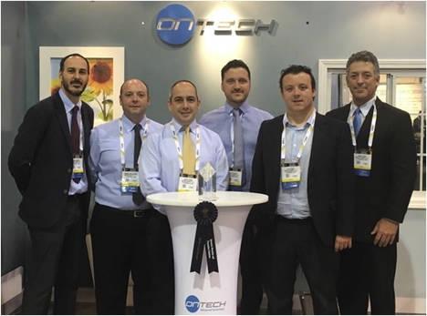La empresa española Ontech Security, primer premio en la mayor feria de seguridad del mundo