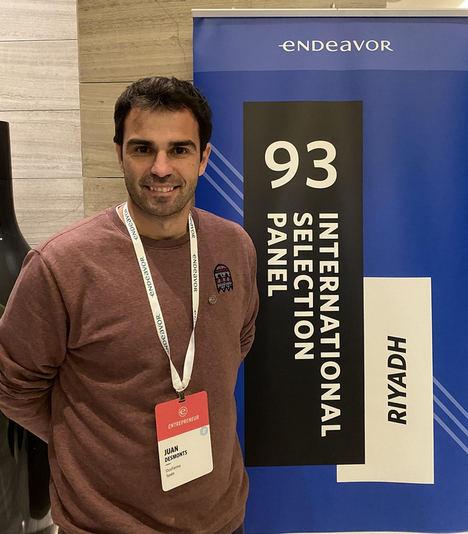 Juan Desmonts, fundador y Ceo de DosFarma, nuevo emprendedor Endeavor de alto impacto