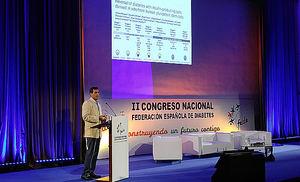 Juan Domínguez-Bendala en el II Congreso FEDE.