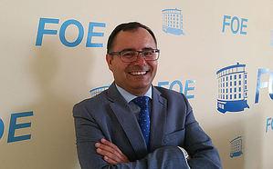 Juan Fernández Núñez, presidente de la Asociación Onubense de Empresas Sanitarias.