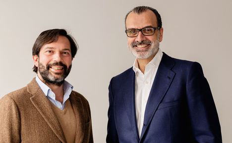 Juan Filiberto Martínez (izda.) y Fernando Castiñeiras, impulsores de la fusión.
