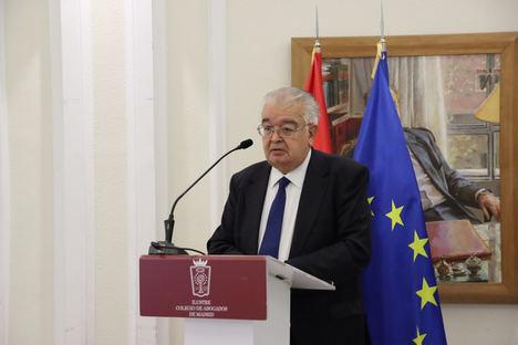 El Presidente del Tribunal Constitucional preside la reunión preparatoria de la abogacía española para el World Law Congress 2021