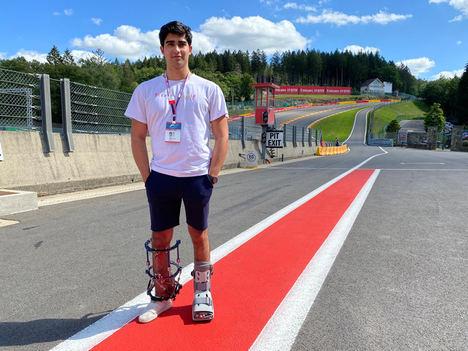 Entrevista a Juan Manuel Correa en Spa Francorchamps 2020