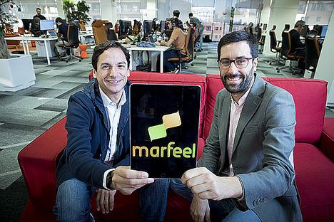 Juan Margenat y Xavi Beumala, Marfeel.
