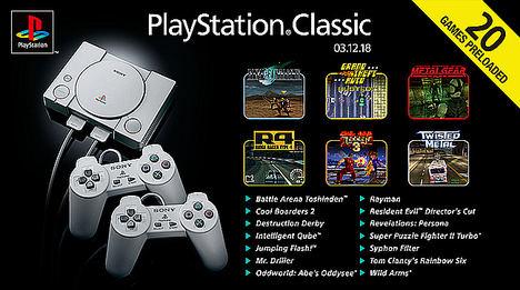Desvelada la lista completa de juegos para PlayStation® Classic