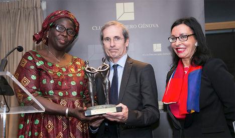 Julie Cissée, Premio MujeresAvenir.