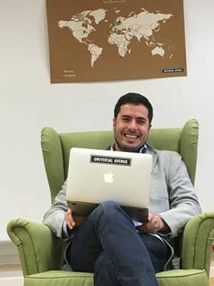 Julián Pardo,  Director Comercial de Universal Avenue España.