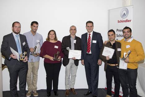 El talento joven vuelve a brillar en la 6ª Edición de los Premios Schindler España de Arquitectura