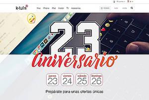 K-tuin cumple 23 años y lo celebra con descuentos especiales en Apple