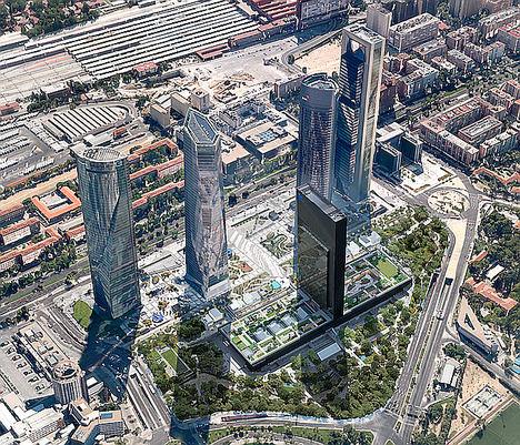 KONE equipará Caleido, la quinta torre del skyline de Madrid