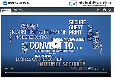 Konica Minolta revoluciona el mercado con sus servicios en la nube bajo el nombre de bizhub Evolution