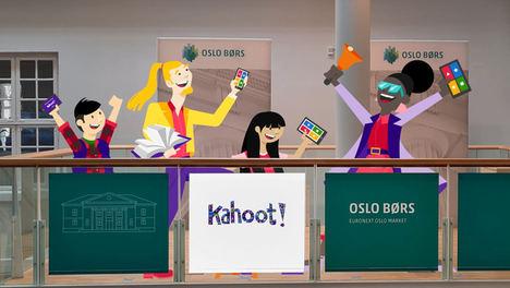 Kahoot! empieza a cotizar en la lista principal de la Bolsa de Oslo