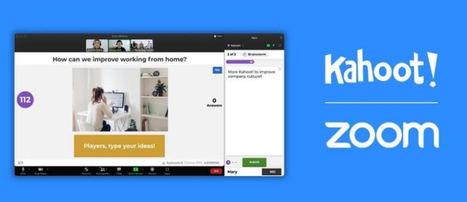 Kahoot! se integra con Zoom para fomentar la participación en reuniones por video y el aprendizaje virtual