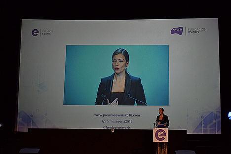 Karla Alarcón, directora de la Fundación everis.