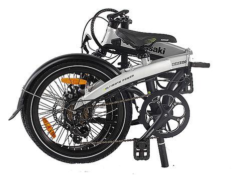 Kawasaki Folding 20, la bicicleta perfecta para los padres más modernos