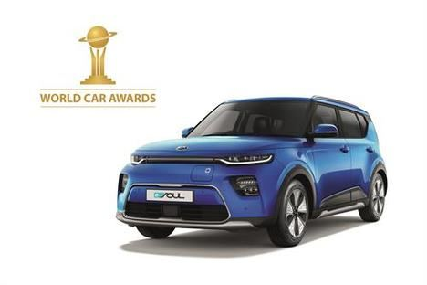 "El Kia E-Soul, ganador del ""World Urban Car"""