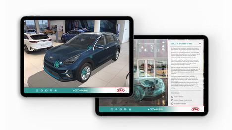 Go Electric, la nueva aplicación de Kia de realidad virtual