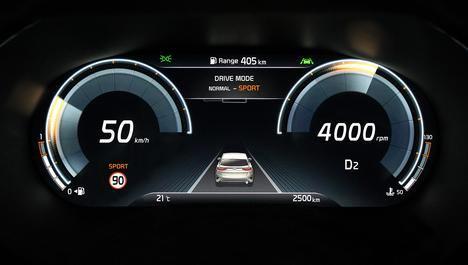 El nuevo crossover Kia XCeed presentará una nueva instrumentación digital