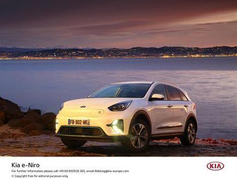 El nuevo Kia e-Niro, funcionalidad de crossover cero emisiones