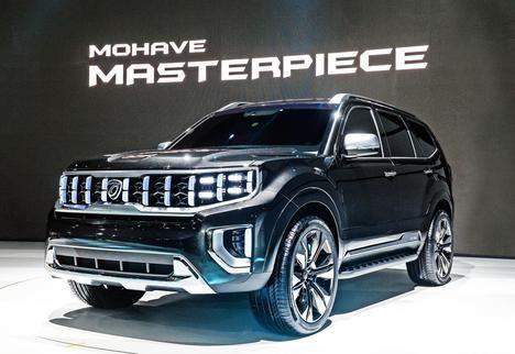 Kia muestra nuevos prototipos SUV en el Salón de Seúl 2019