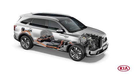 Kia revela los secretos del nuevo Sorento Plug-in Hybrid