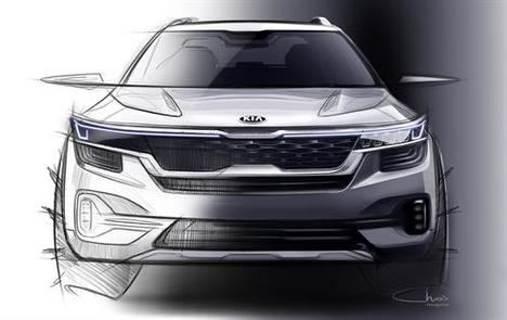 Primera imagen de un nuevo SUV pequeño de Kia