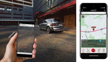Kia presenta las nuevas funciones del sistema de conectividad