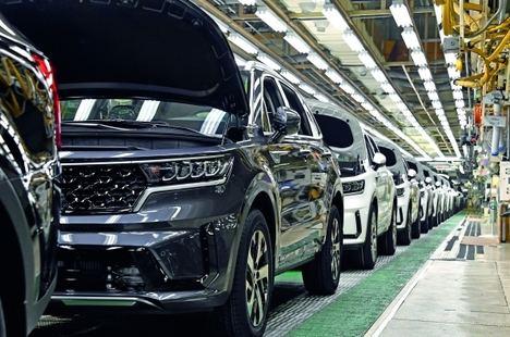 Inicio de la producción del Kia Sorento híbrido