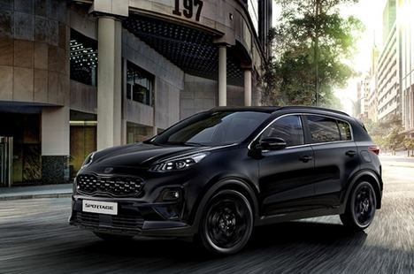 Nueva y elegante versión Black Edition del Kia Sportage