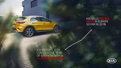 Por primera vez Kia Motors supera el medio millón de unidades en Europa