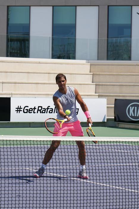 Kia y Rafa Nadal amplían su acuerdo de patrocinio