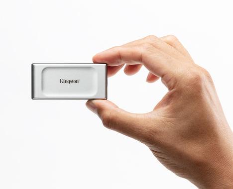 """Kingston Digital anuncia el lanzamiento de la unidad SSD portátil """"de bolsillo"""" XS2000"""