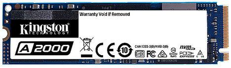 Kingston presenta la nueva generación de SSDs A2000 NVMe PCIe