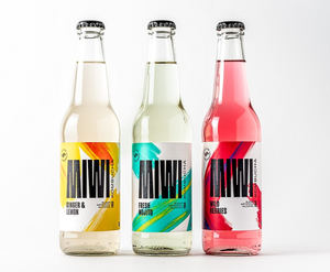 Nace MIWIReal Drinks, la primera kombucha 100% sugar free con el sello del Chef Bosquet